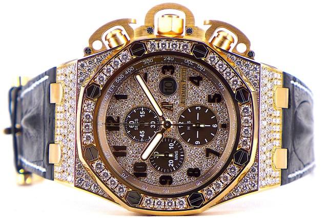 Royal Oak Offshore Chronograph 18KRG Diamond
