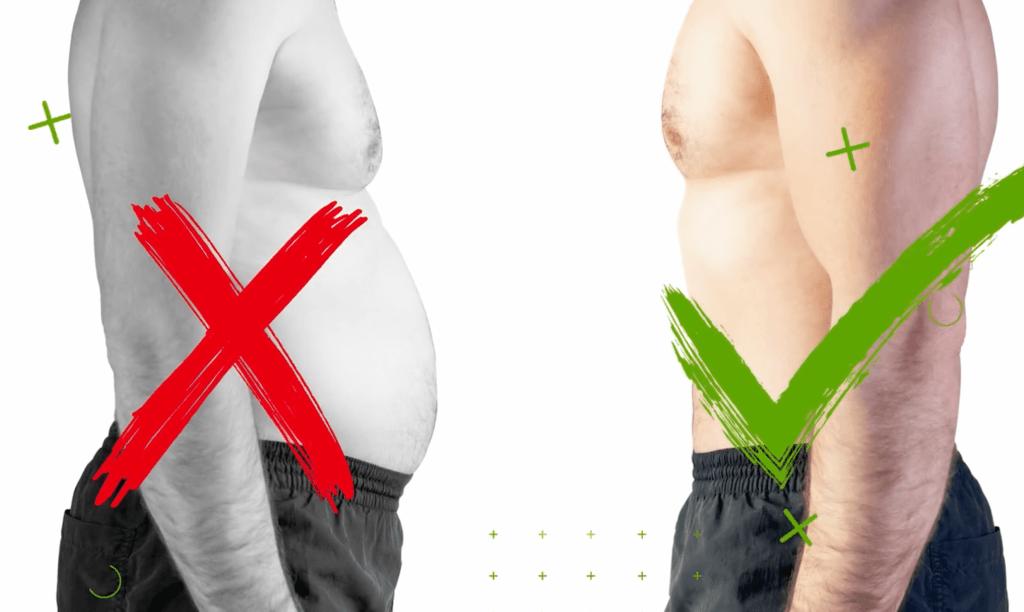 overweight-vs-lean-body-fat-percentage