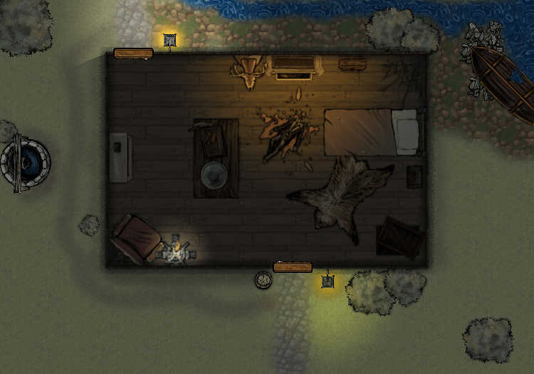 map created using Dungeonfog