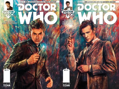 Doctor Who Returns To Comics In Two New Series!