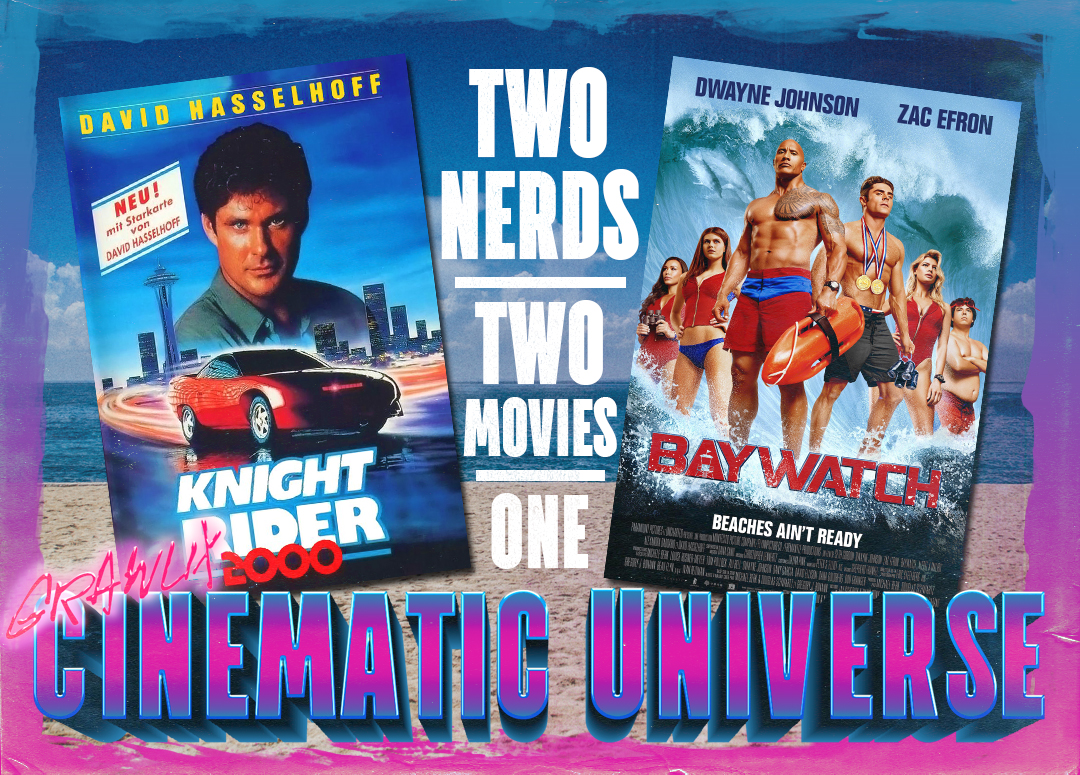GCU Baywatch & Knight Rider 2000 Double Feature