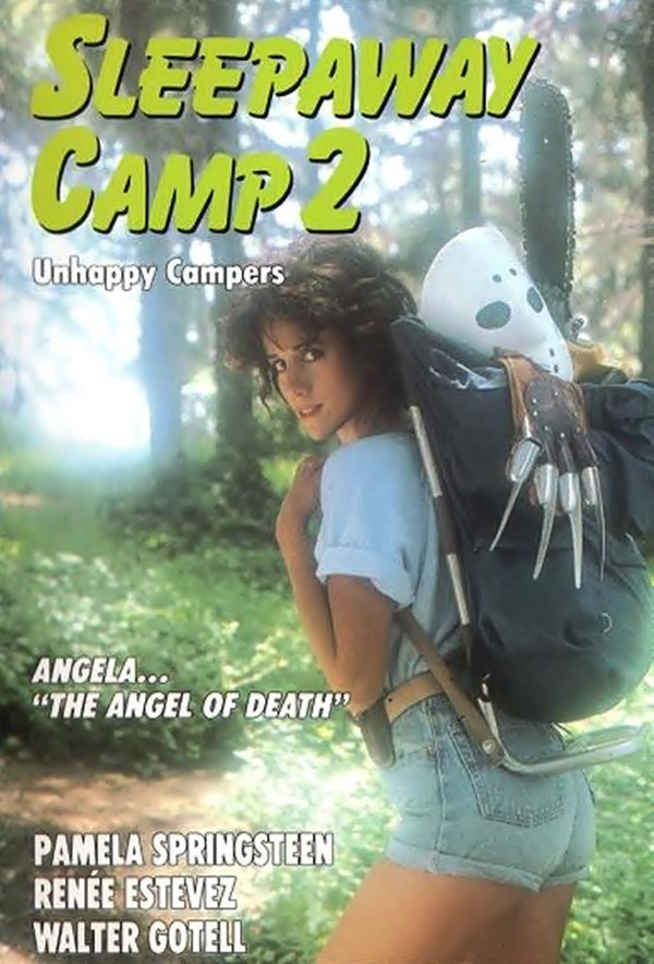 "Poster for the movie ""Sleepaway Camp 2"""