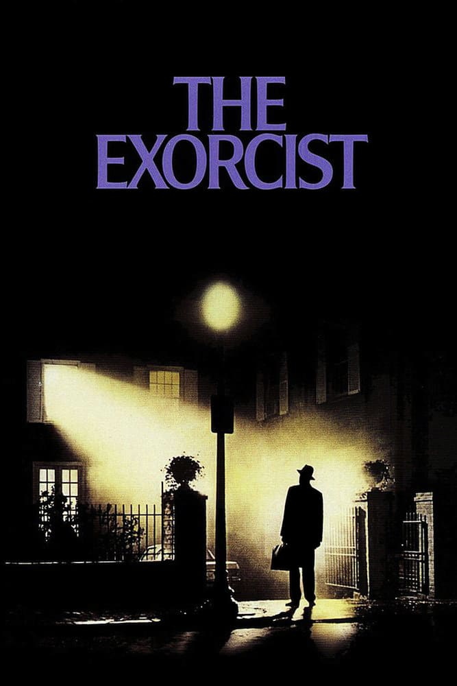 "Poster for the movie ""The Exorcist"""