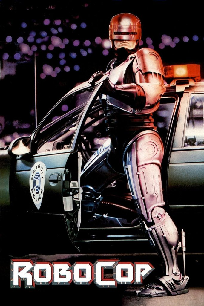 """Poster for the movie """"RoboCop"""""""