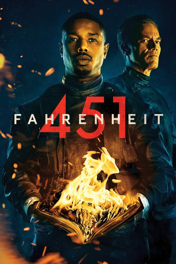 "Poster for the movie ""Fahrenheit 451"""