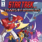 Star Trek Vs. Transformers Crossover Comic Announced