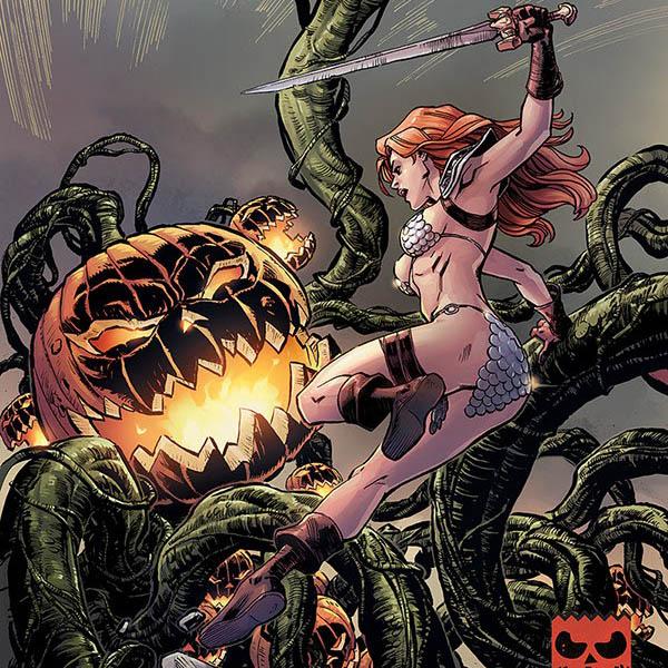 Dynamite Halloween Specials: Army of Darkness, Bettie Page, Elvira, Red Sonja and Vampirella