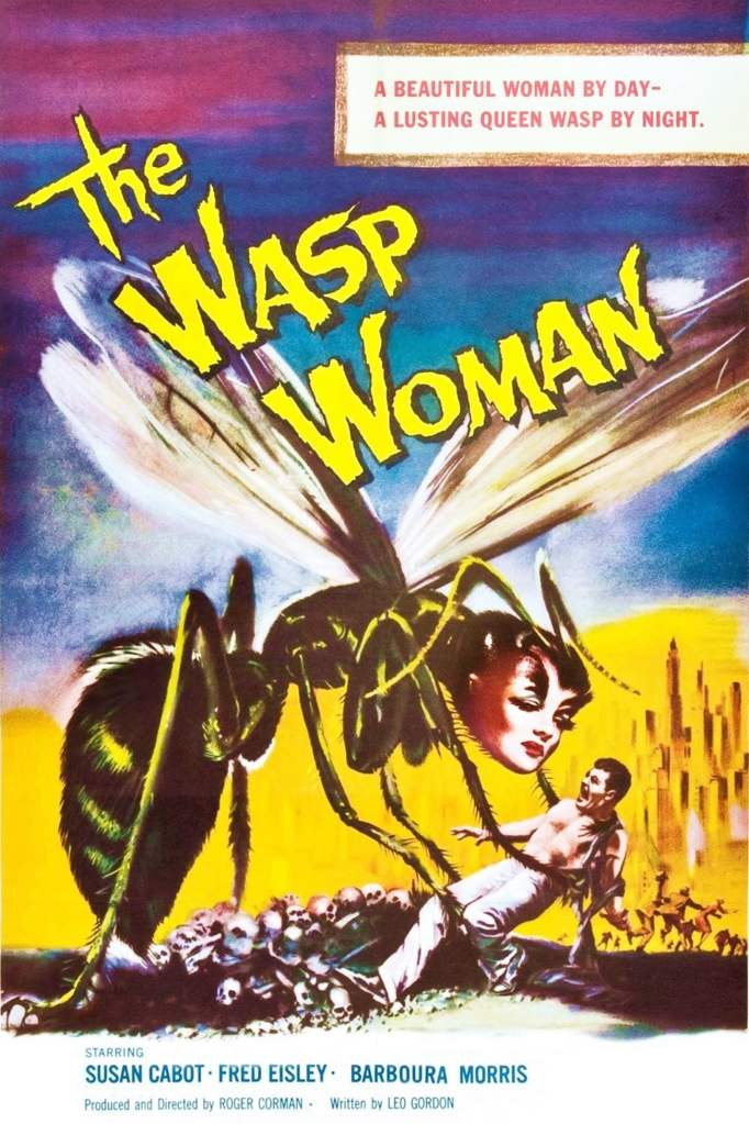 "Poster for the movie ""The Wasp Woman"""