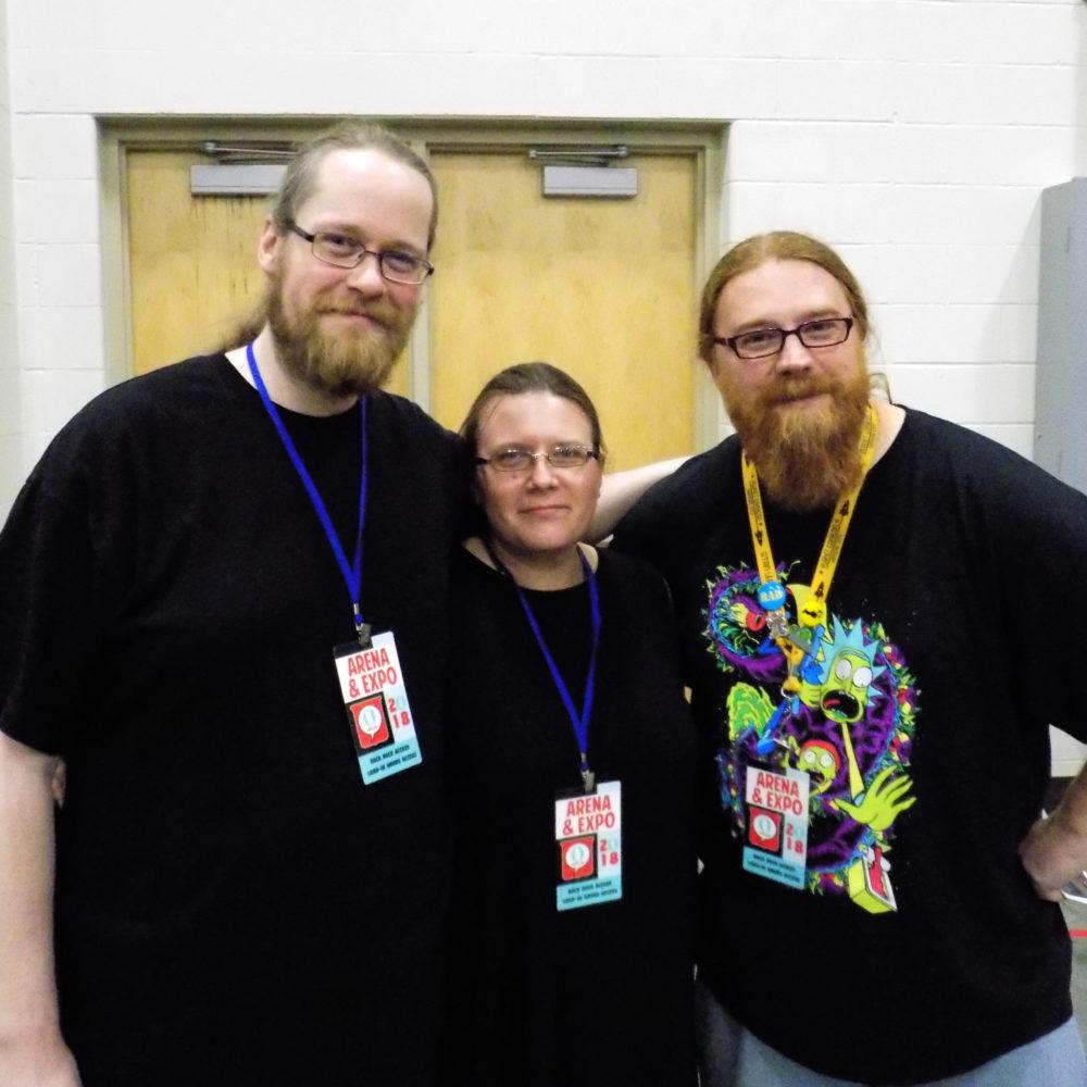 Grawlix Podcast Hosts