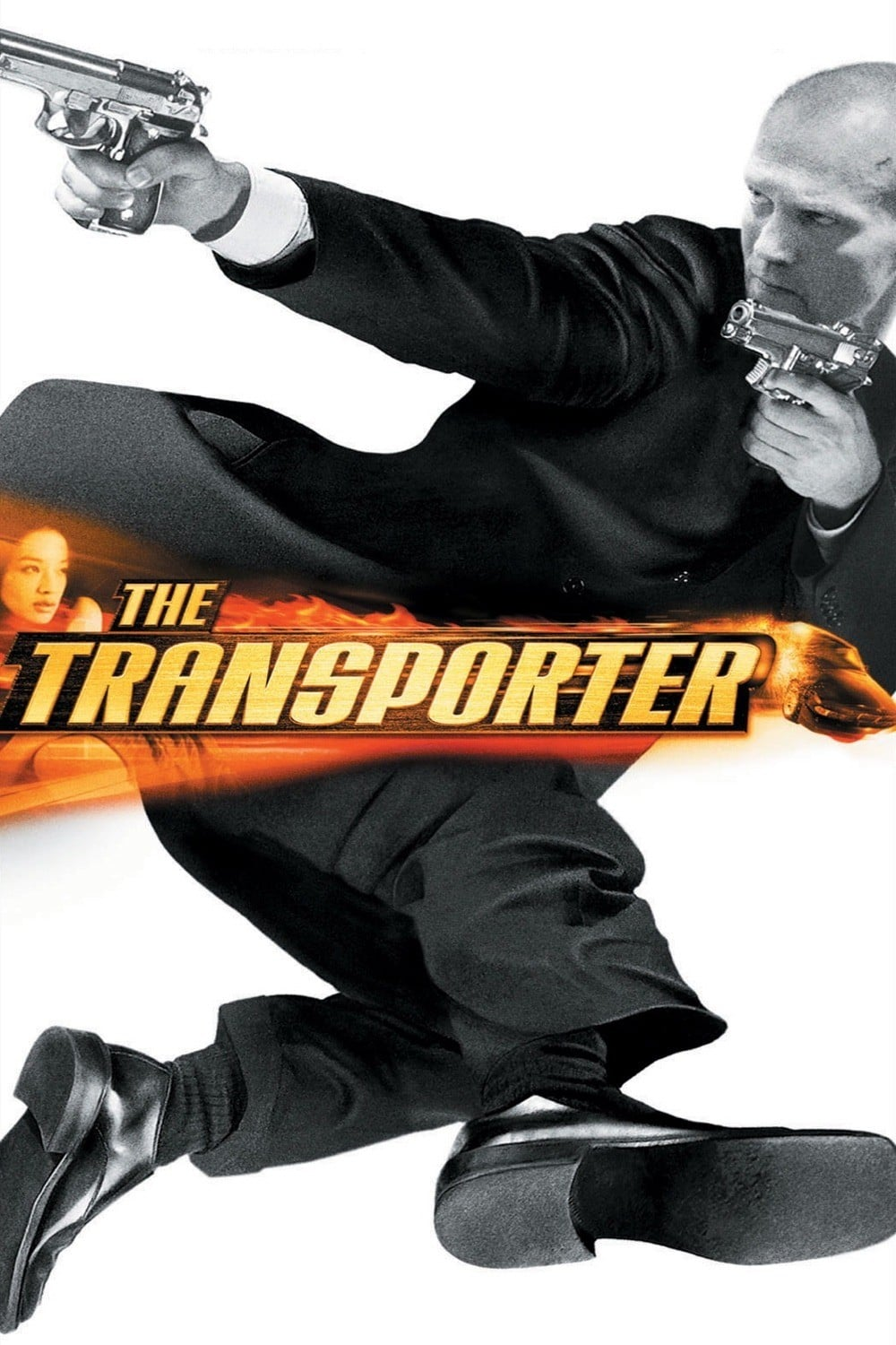 "Poster for the movie ""The Transporter"""