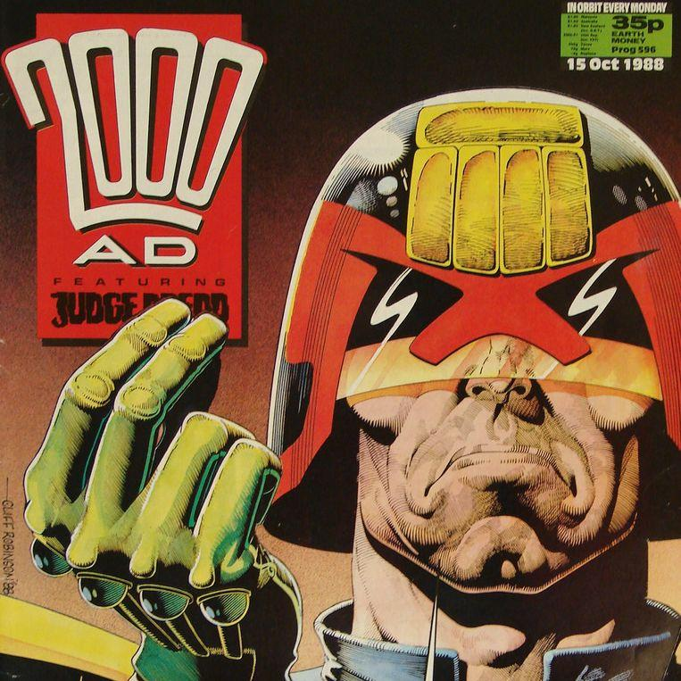 2000AD Judge Dredd Review