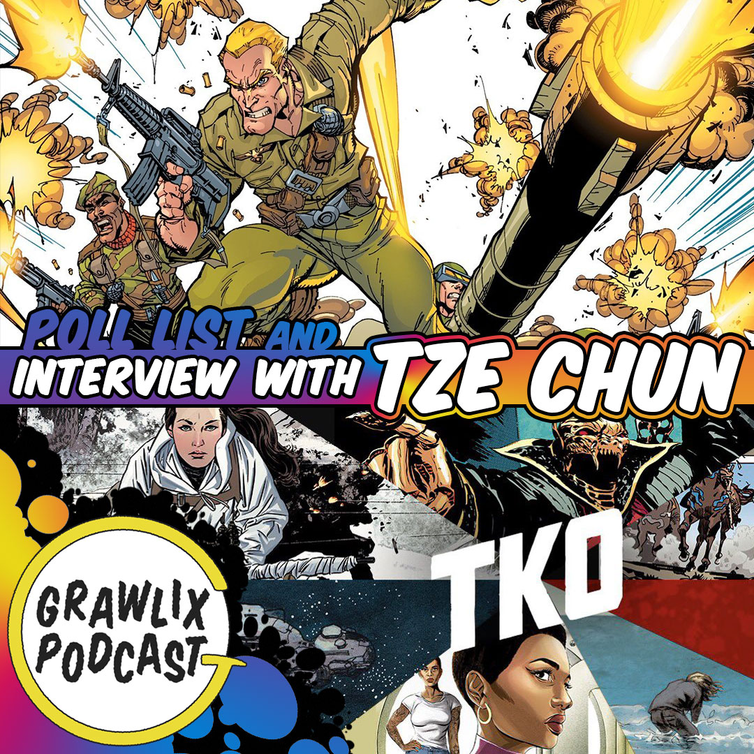 Grawlix Podcast - GI Joe and TKO Studios