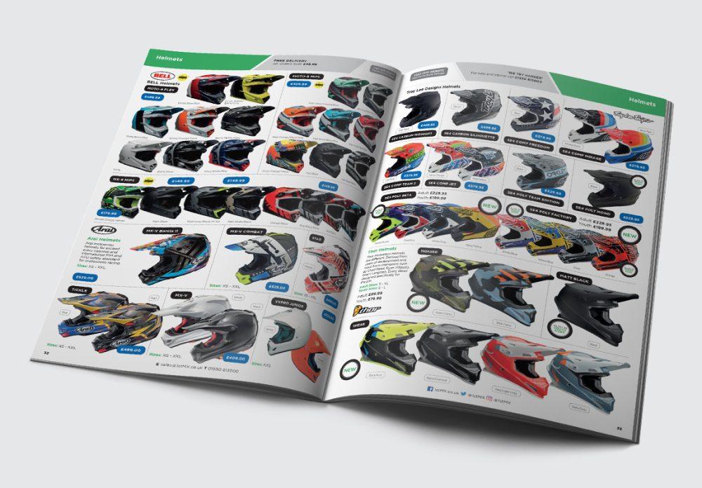 1st MX Catalogue Helmets Spread
