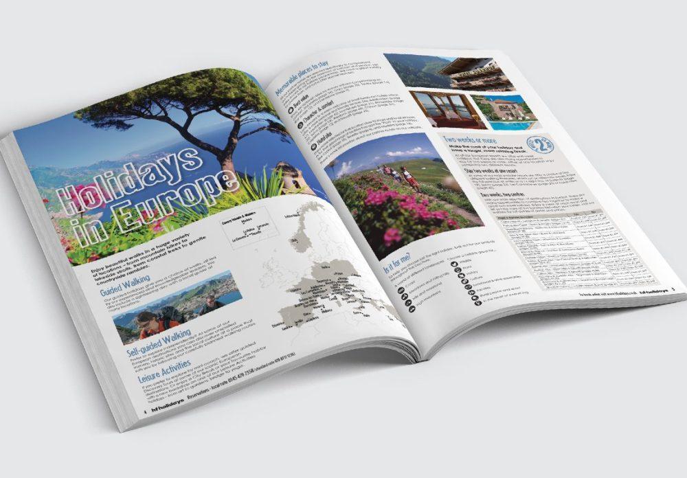 HF Holidays Brochure Spread 1