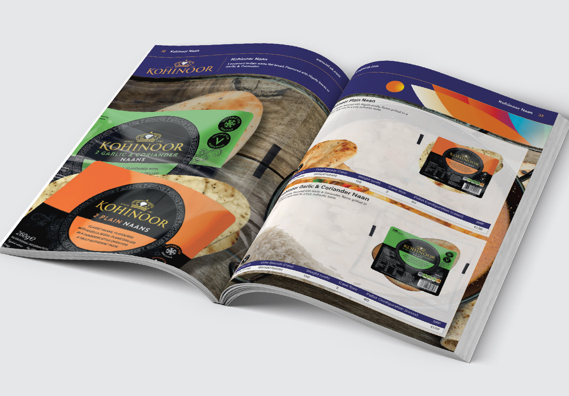 IEF Catalogue Kohinoor Naan Spread
