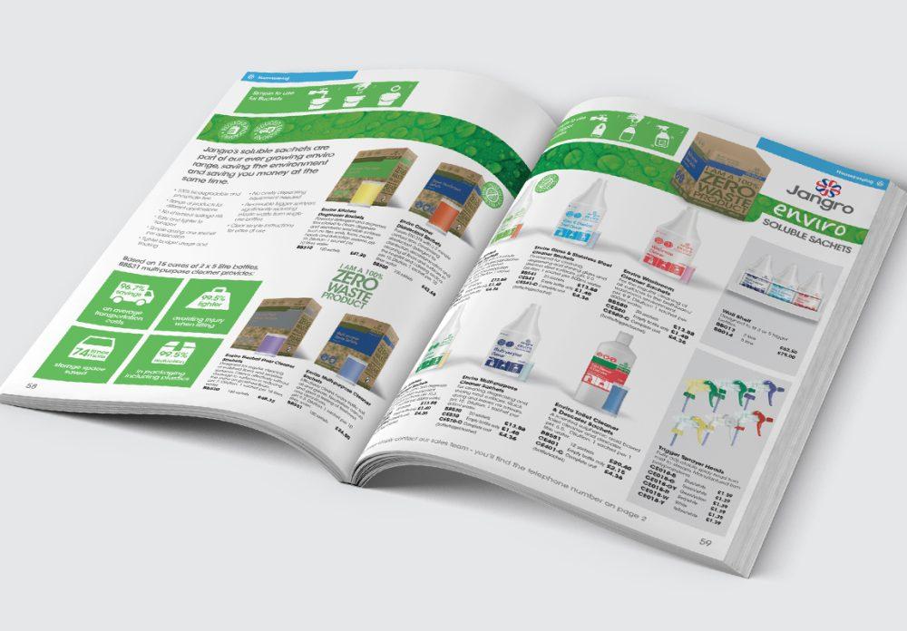 Jangro Catalogue Housekeeping Spread