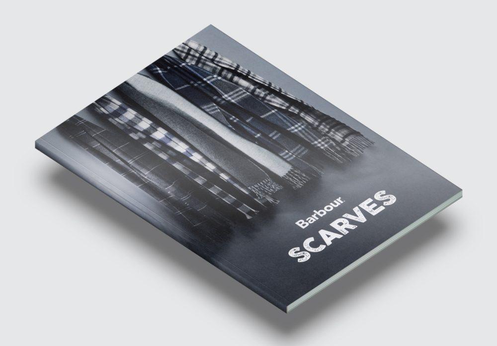 Barbour Scarves Catalogue Cover