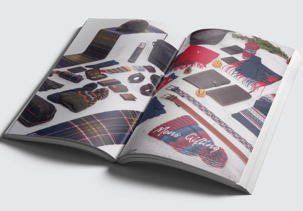 Barbour Scarves Catalogue Spread 2