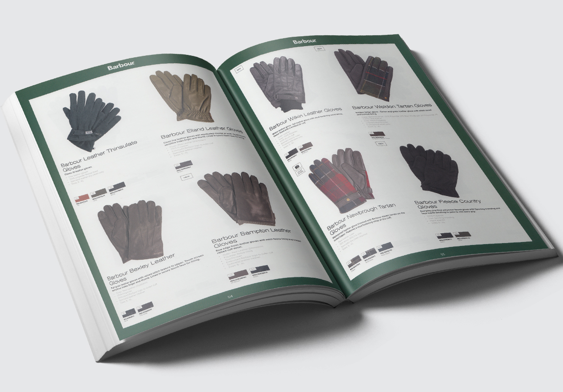 Barbour Accessories Catalogue Gloves Spread