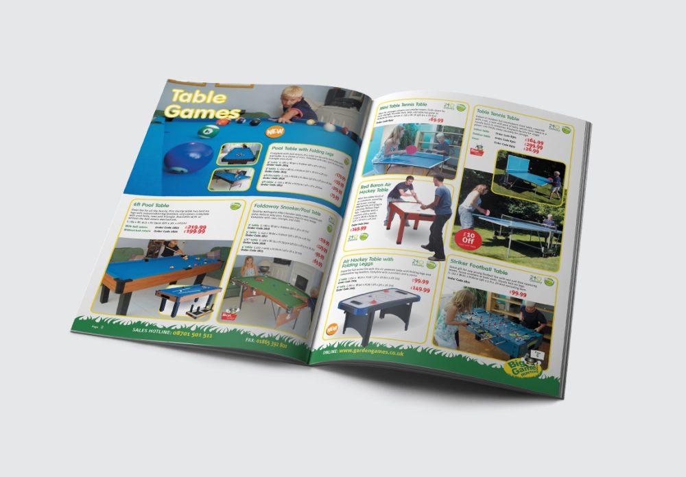Big Games Hunters Brochure Table Games Spread