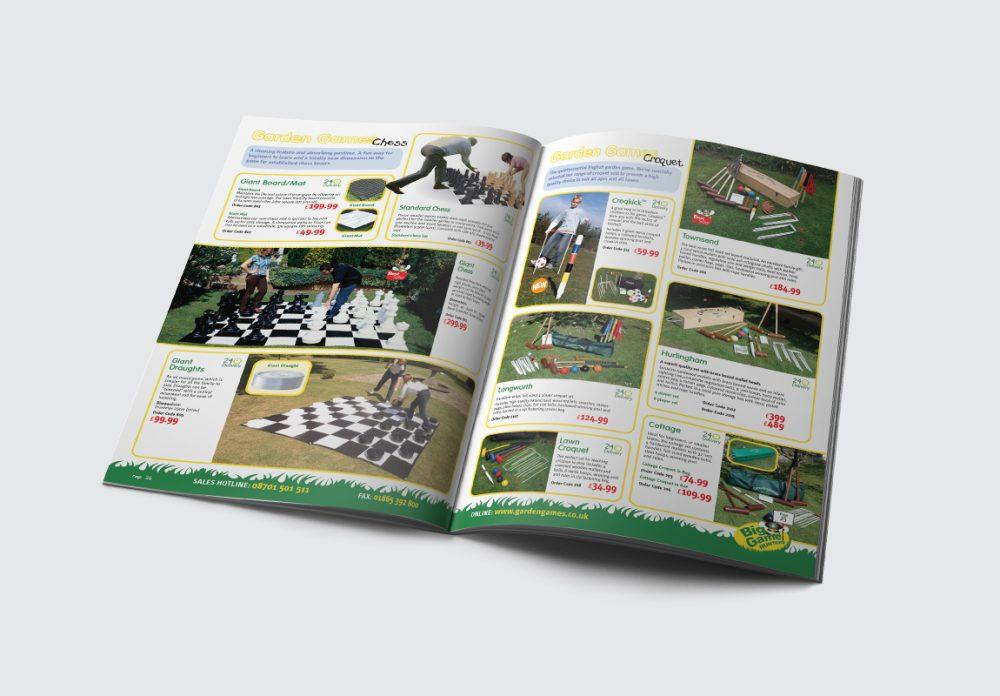 Big Games Hunters Brochure Garden Games Spread