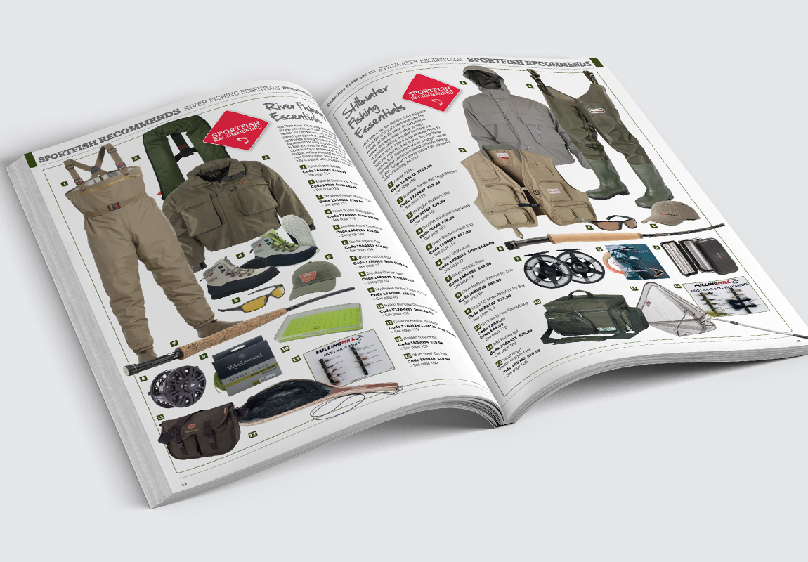Sportfish Catalogue Sportfish Recommends Spread