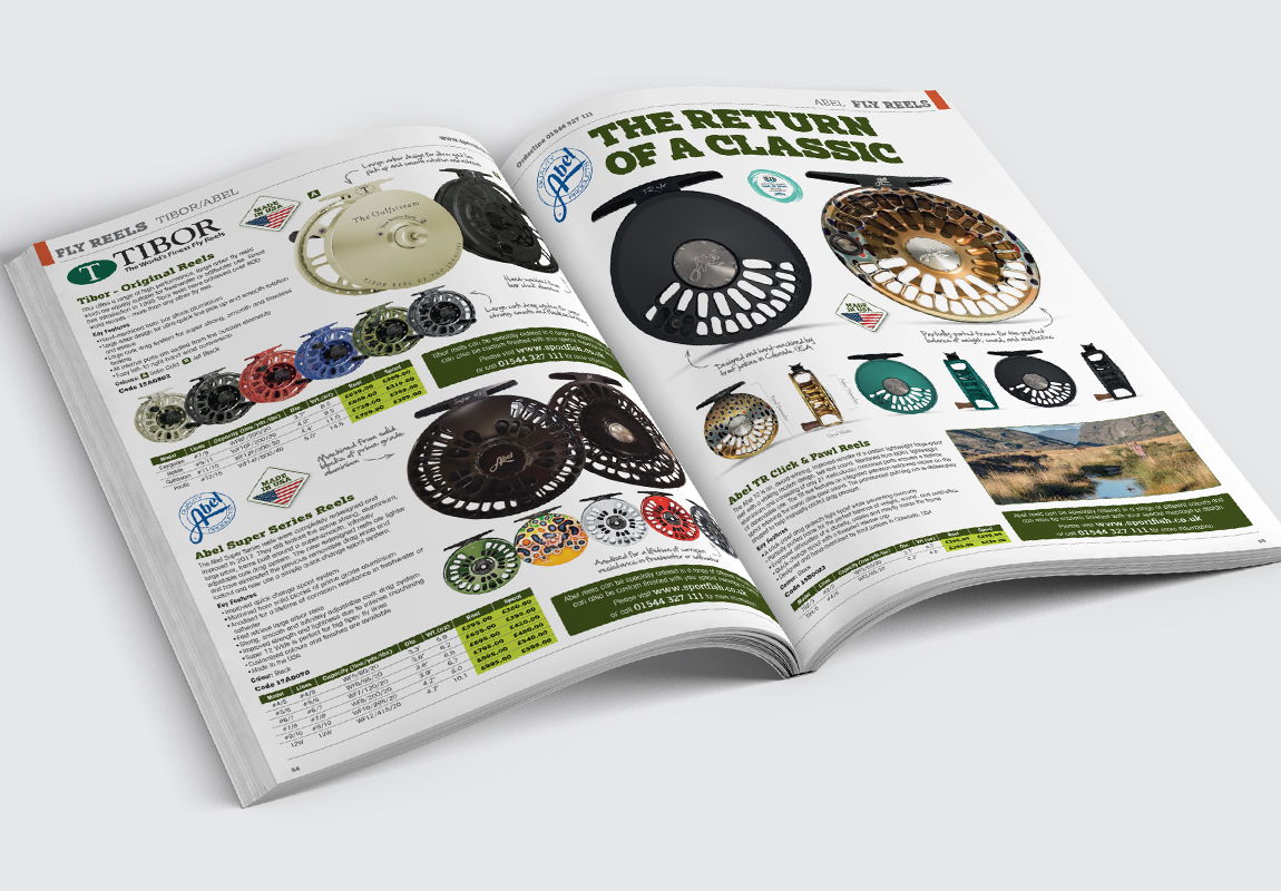 Sportfish Catalogue Fly Reels Spread