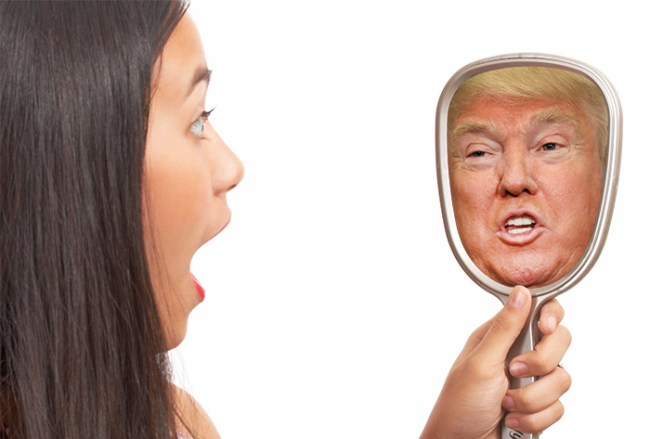 If we're honest with ourselves, what do we really see when we look in the mirror?