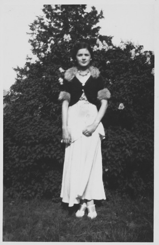 My great aunt Angela as a young woman.