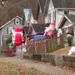 Real Life Grinch Steals Christmas Decorations From Yard