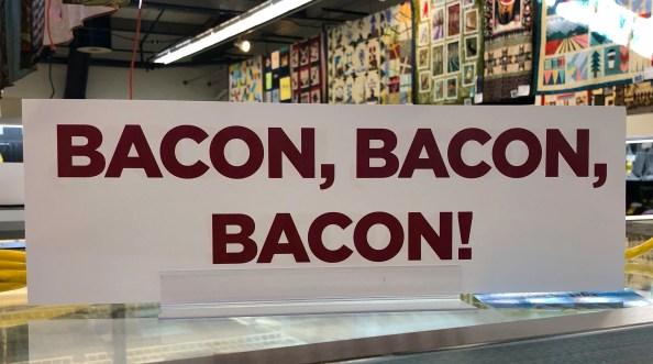 Bacon x 3