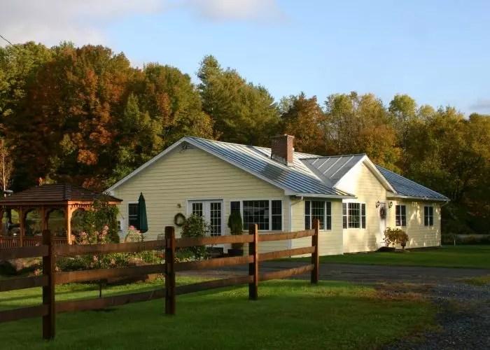 Dana Road House in Autumn