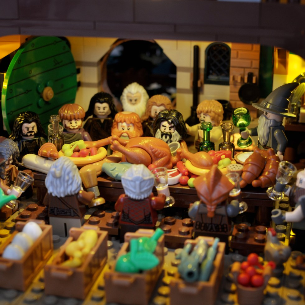 The Hobbit in Lego: Part One