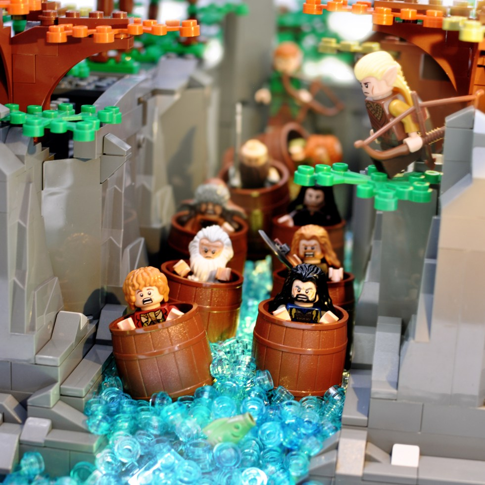 The Hobbit in Lego: Part Two