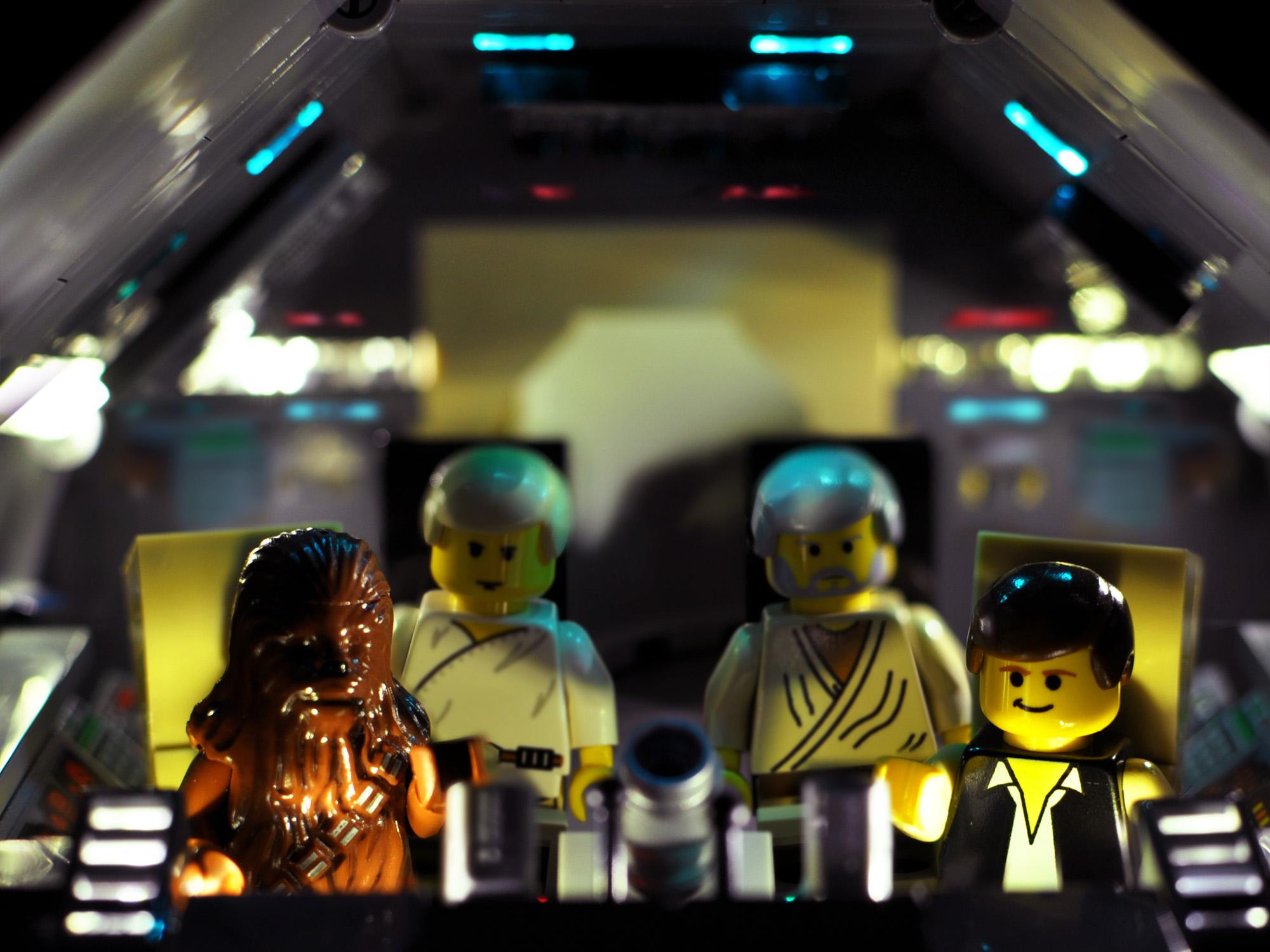 Star Wars in Lego: 2000-2001