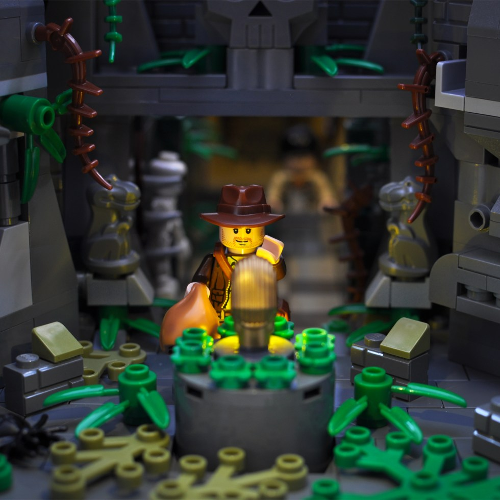 Indiana Jones and the Raiders of the Lost Ark in Lego