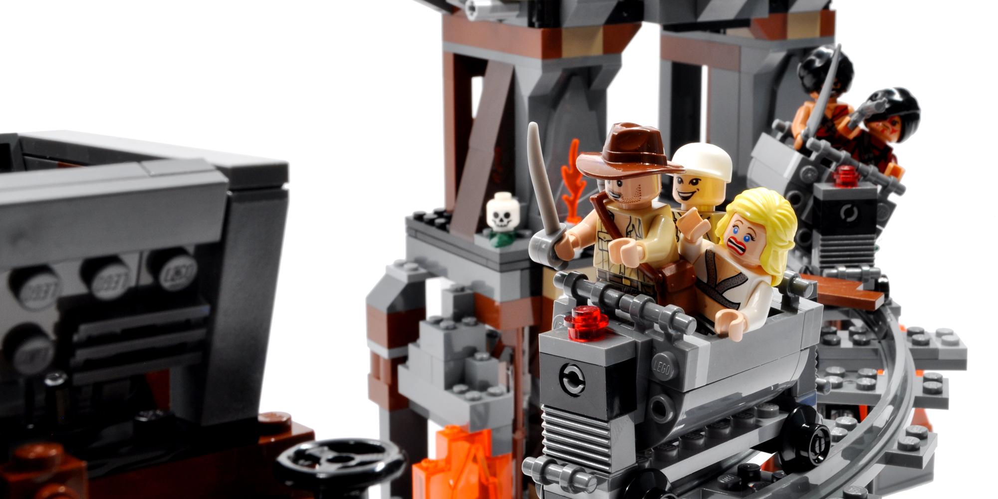 Lego 7199: The Temple of Doom