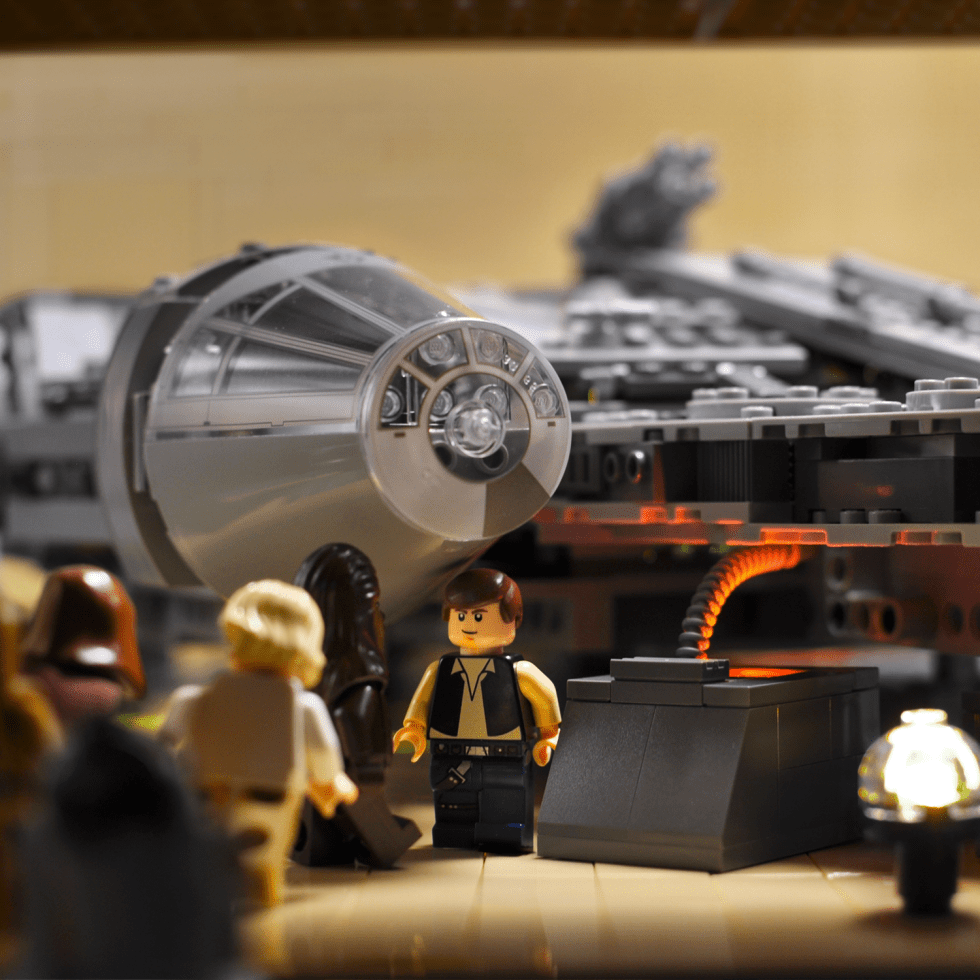 A look at the Lego Star Wars minifigures from 2011.