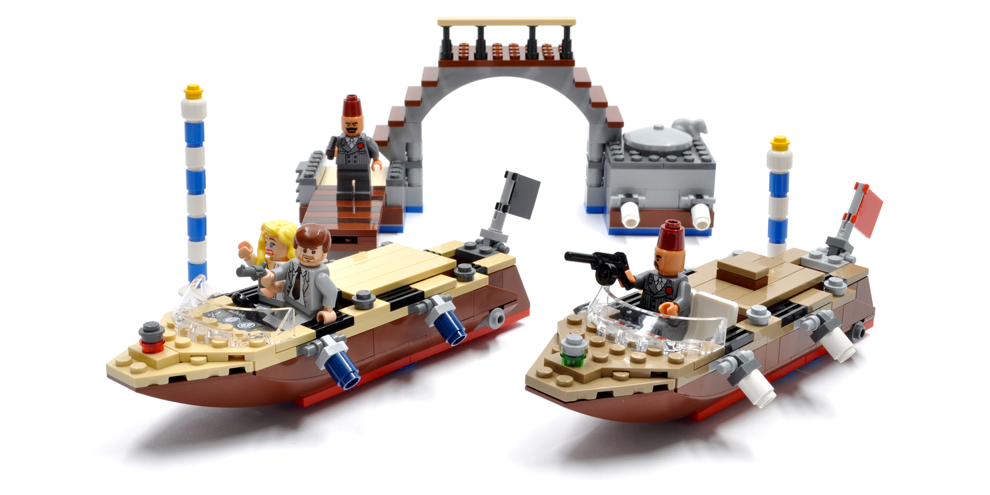 Venice Canal Chase (7197)