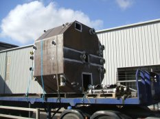 Steel Fabrication - Fabricated Tank