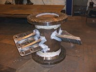 Steel Welding - Fabricated Spool Section