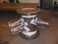 Steel Welding - Fabricated Spool Section