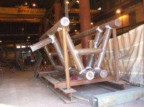 Steel Fabrication - Boat Landing Structure