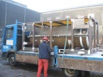 Steel Fabrication - Split Tank