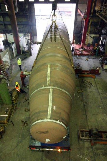Steel Fabrication - Tidal Generation Tubular