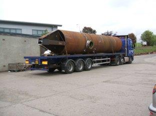 Large Tubular - Crane Pedestal Diesel Tank