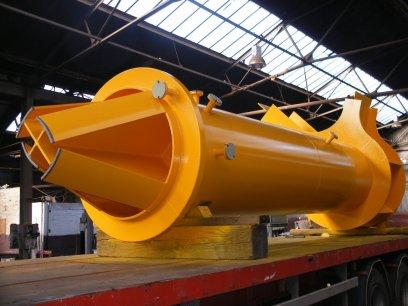 Steel Fabrication - Sub Sea Fabrication