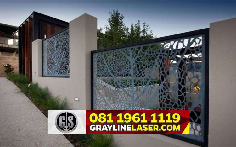 Pintu Garasi Laser Cutting Bogor