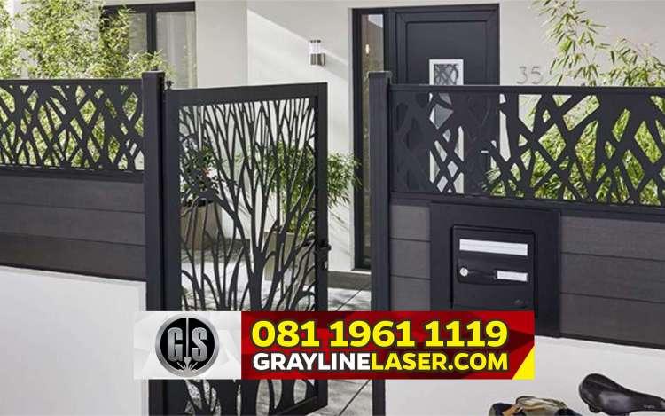 Pintu Garasi Laser Cutting Jakarta Utara
