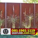 081 1961 1119 GRAYLINE LASER > Pagar Laser Cutting Jakarta Timur